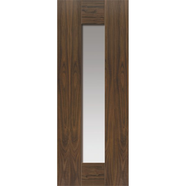 Axis Walnut Glazed Door