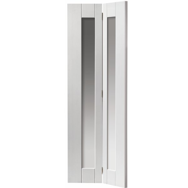 Axis White Bi Fold Glazed Door