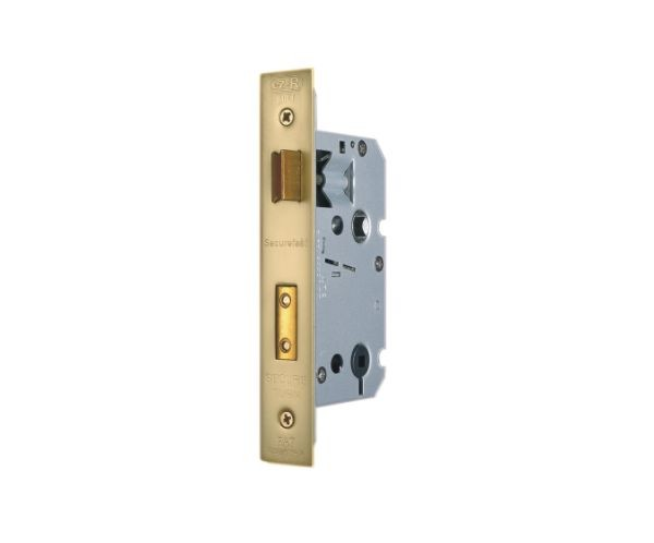 Brass Bathroom Lock