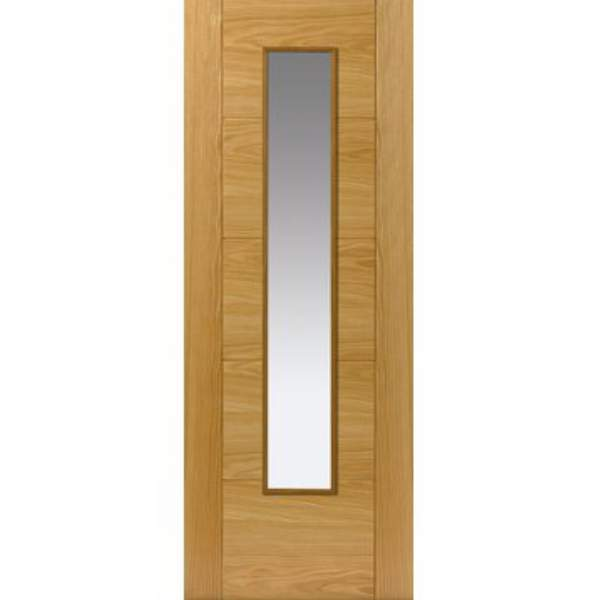 Emral Oak Glazed Door