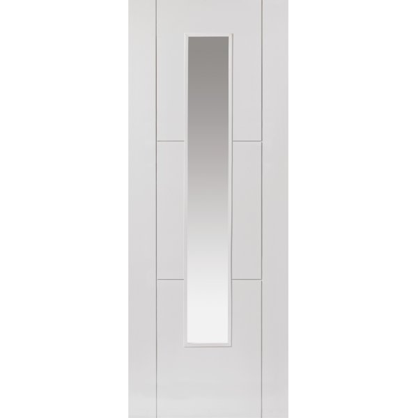 Mistral White Glazed Door