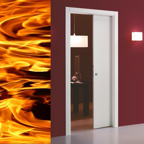 Eclisse Unico SD Fire Pocket Door Kit (100mm Wall Thickness)
