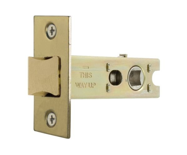Polished Brass Tubular Mortice Latch