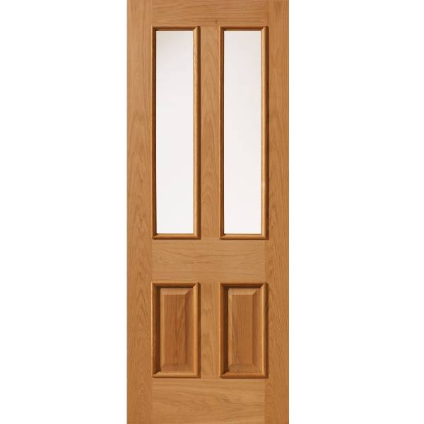 E14-2VMN Oak Door (Unfinished)