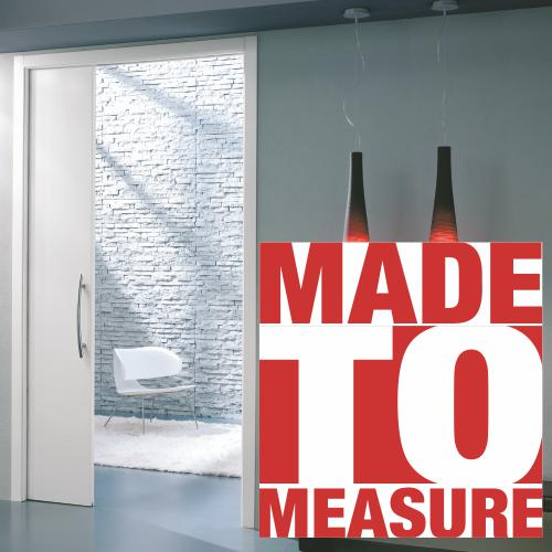 made to measure pocket door