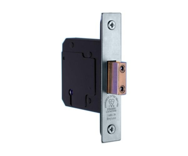 5 Lever Satin Stainless Steel Deadlock