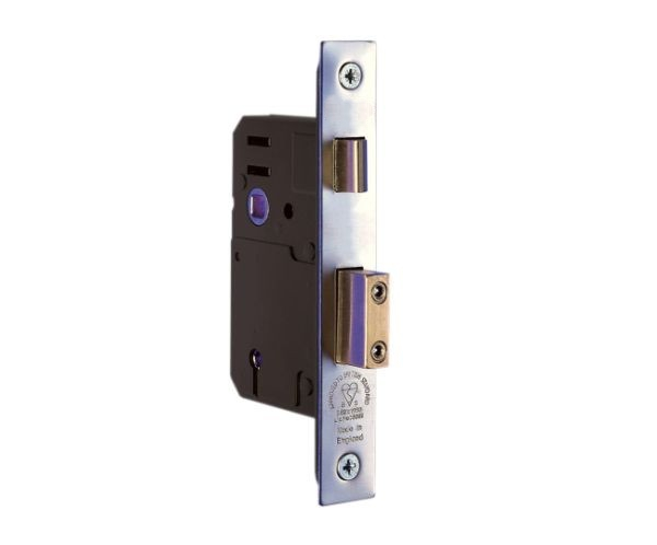 5 Lever Satin Stainless Steel Sashlock